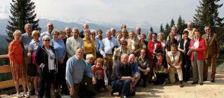 Groepsfoto van Vereniging van Vrienden.