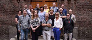 Groepsfoto van het team Museum Helmond.