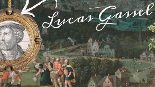 Schilderij met Middeleeuws tafereel